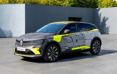 Den kommende Renault MeganE E-Tech electric avsløres mer og mer!
