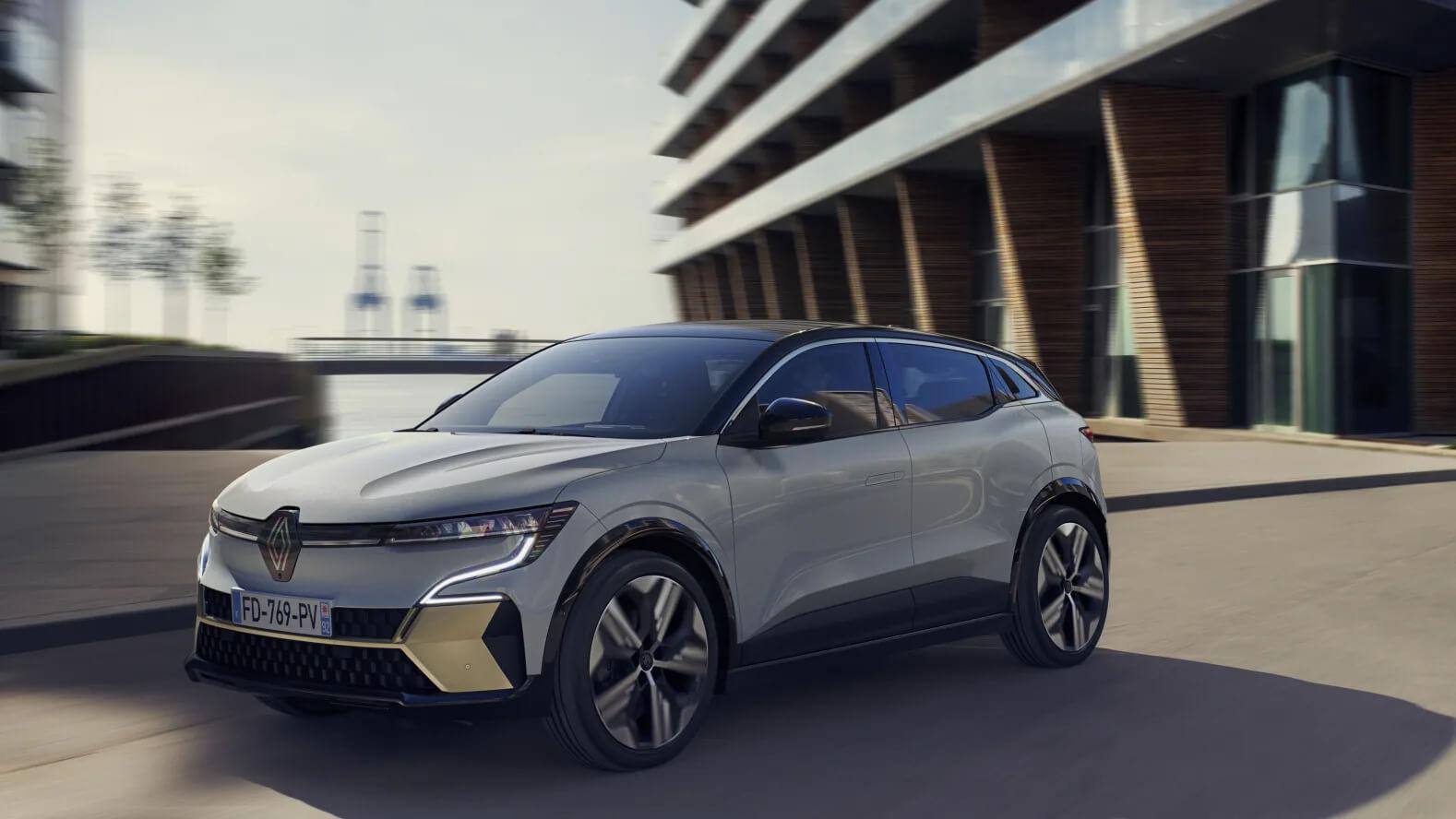 Verdenspremiere! <br> Renault Megane E-Tech electric